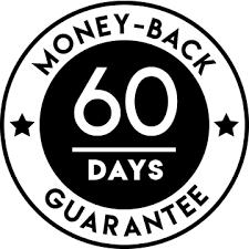 Sixty-day money-back guarantee