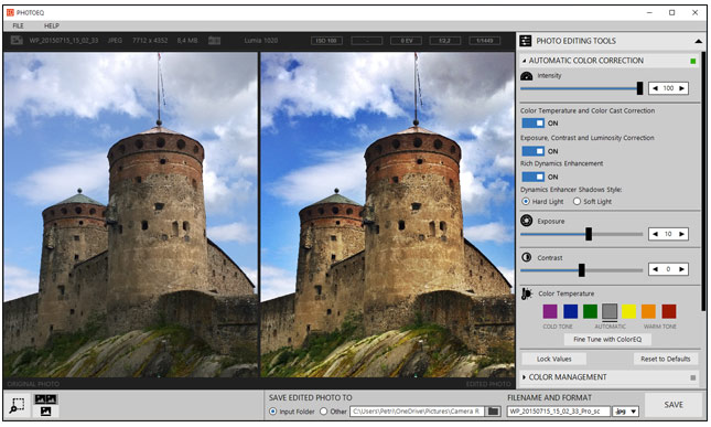 photo correction software